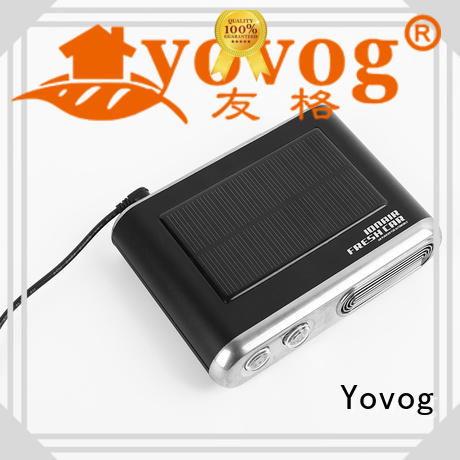 Yovog Best car mini air purifier factory