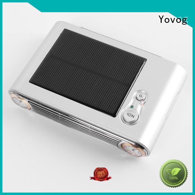 Yovog standard degrade auto air purifier ionizer Supply for car