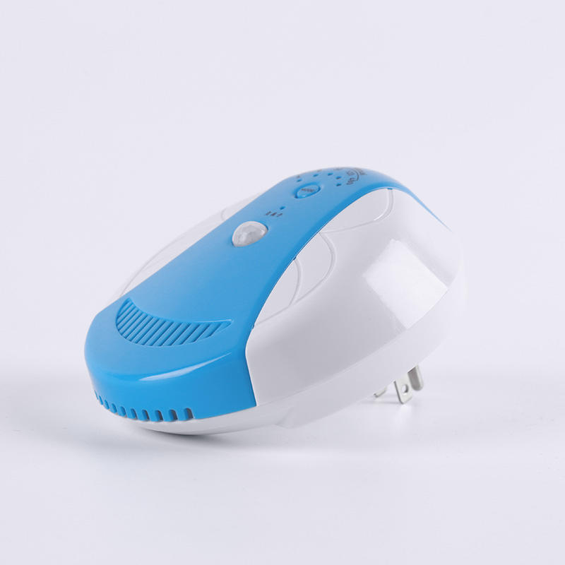 Professional portable advanced mini-insertion ion air purifier and ozone generator system GH-866