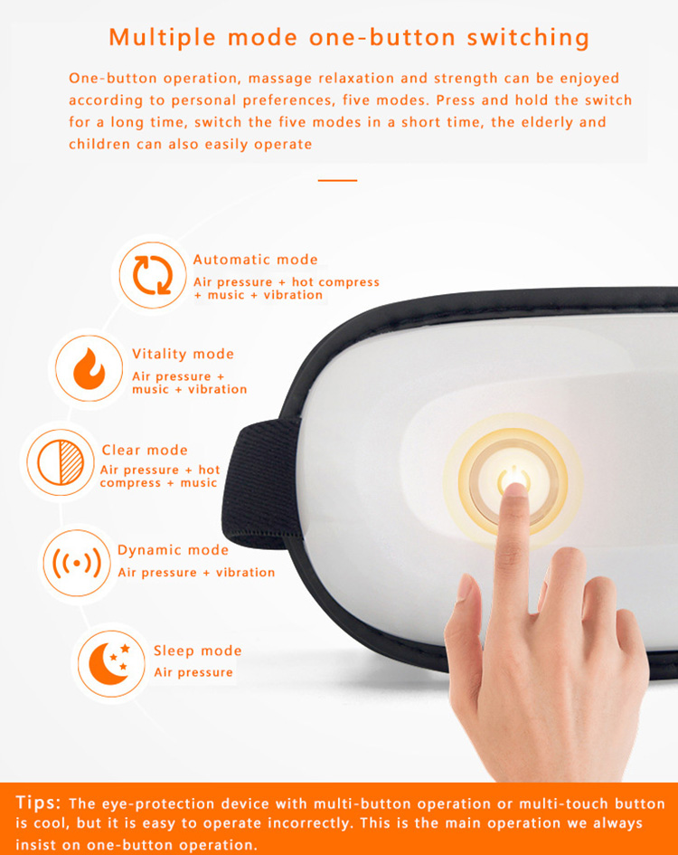 Yovog portable wireless eye massager buy now for men-11