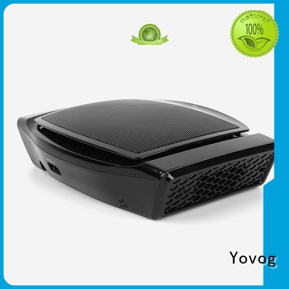 latest design car air purifier hepa fast-installation for vehicle Yovog