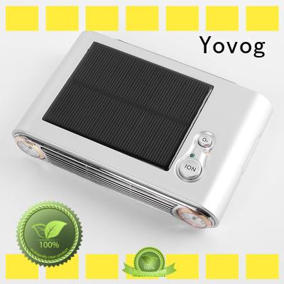 standard degrade solar powered air purifier for car Yovog