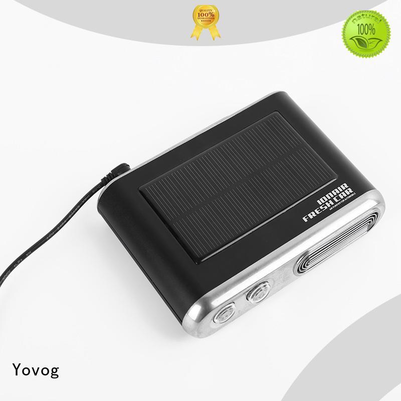 top brand solar car air purifier at discount for car Yovog