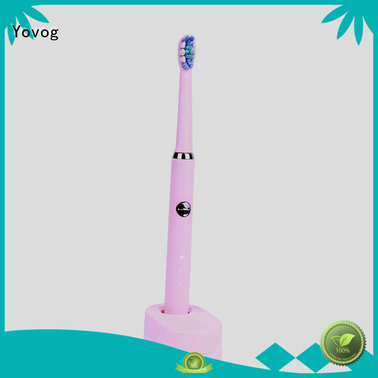 Yovog rechargeable toothbrush highly-rated