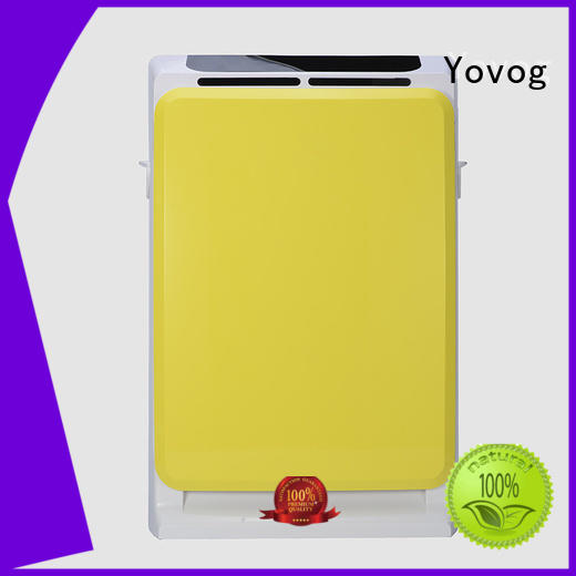 Yovog universal best hepa air purifier ODM for living room