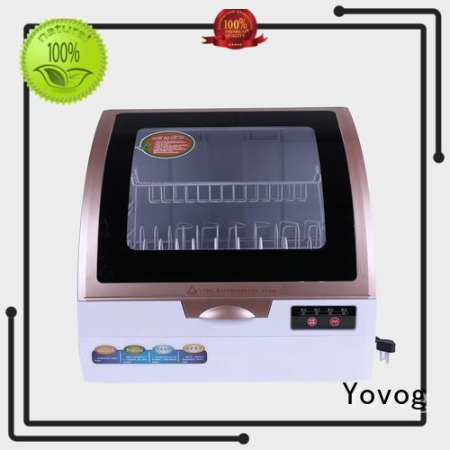 Yovog bulk production benchtop dishwasher high quality dust removal