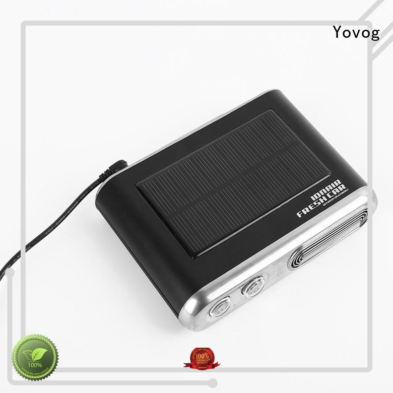 Yovog bulk production solar powered car air freshener top brand for car