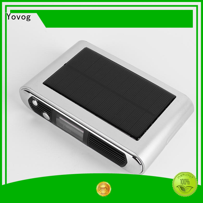 Yovog Top car air purifier ionizer reviews Suppliers for bus