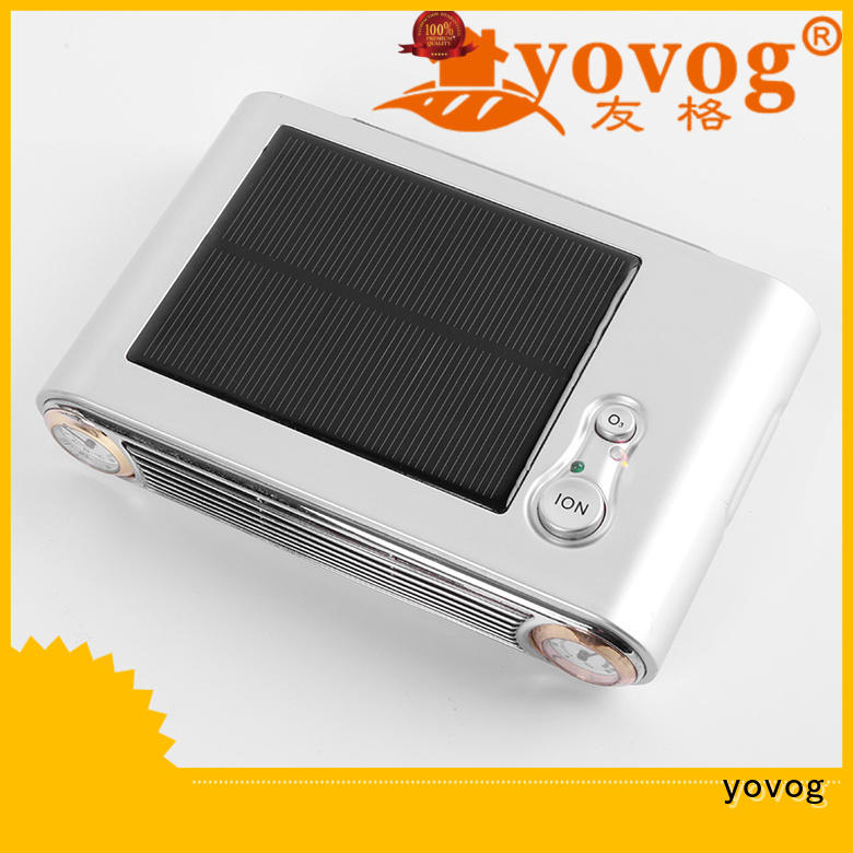anion eds1070 lcd solar car air purifier powered yovog Brand