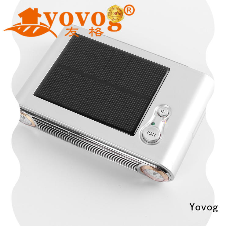 free delivery solar air purifier for bus Yovog