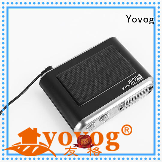 12 Volt Solar Powered Car Air Purifier With Ozone Anion EDS-1007