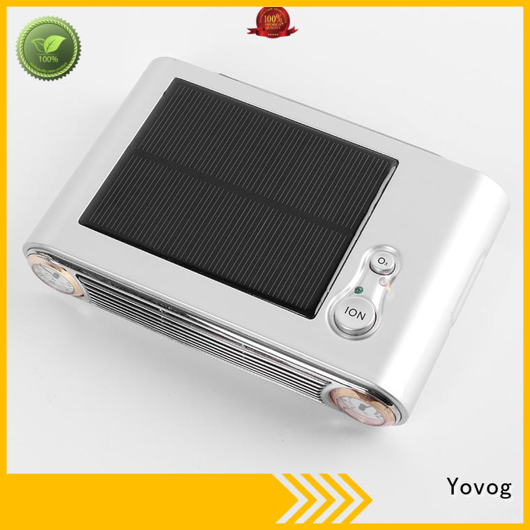 Yovog standard degrade solar purifier highly-rated for auto