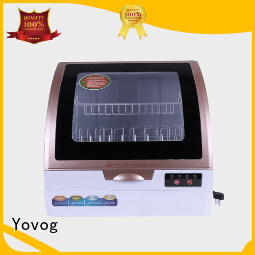 Yovog wholesale portable countertop dishwasher dust removal