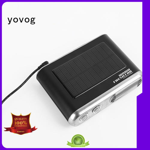 powered solar car air purifier weak yovog company