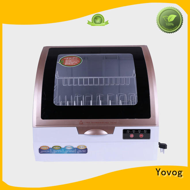 Yovog portable countertop dishwasher highly-rated for auto