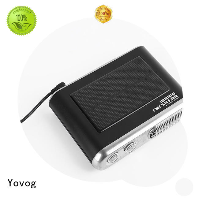 12 Volt Solar Powered Car Air Purifier With Ozone Anion EDS-1007