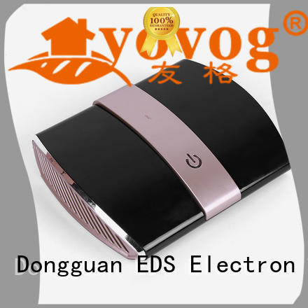 Portable Cheap Car Air Purifier And Ionizer With Hepa Activated Carbon EDS-4025