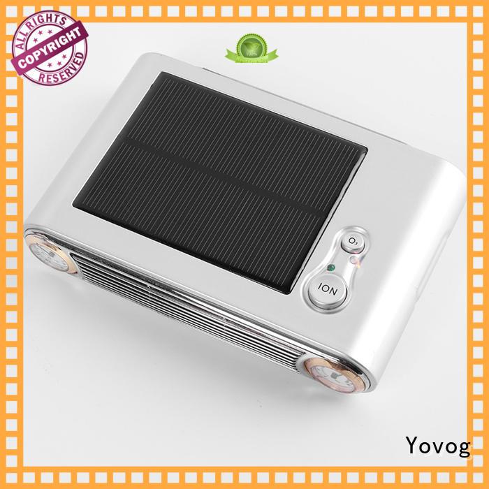Yovog ozone solar air purifier solara removal