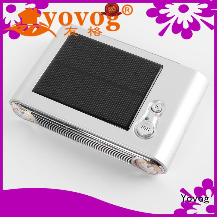 solar powered car air freshener top brand dust removal Yovog