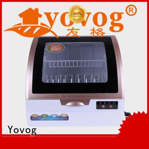 Yovog OBM tabletop dishwasher dust removal