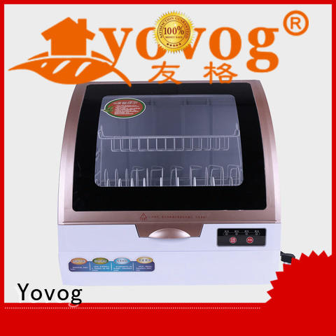 Yovog OBM tabletop dishwasher dust removal