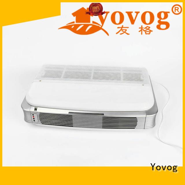 Yovog top brand wall mountable air purifier high grade for auto