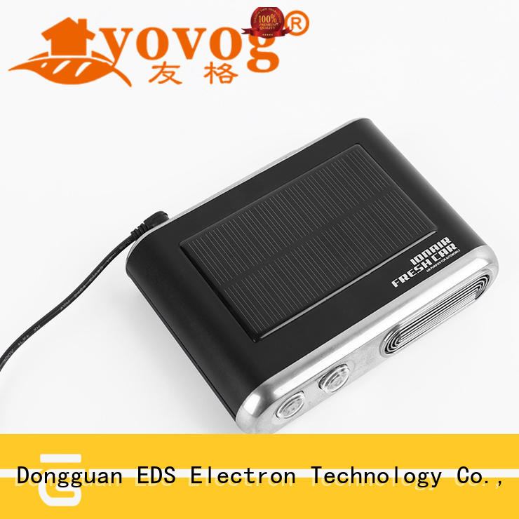 Custom 12v mini auto car fresh air ionic purifier top brand company for bus