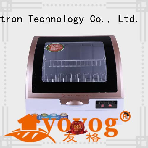 Yovog OBM benchtop dishwasher high quality for bus