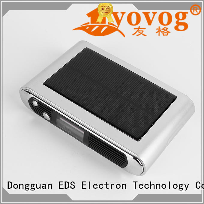 Yovog hot-sale auto air purifier ionizer company dust removal