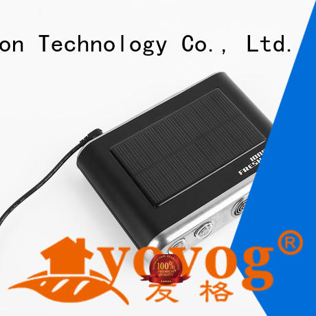 Yovog free delivery solar powered car air purifier highly-rated