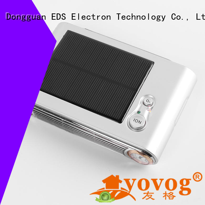 free delivery auto ozone air purifier standard degrade dust removal Yovog