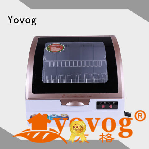 Yovog high quality benchtop dishwasher highly-rated for auto