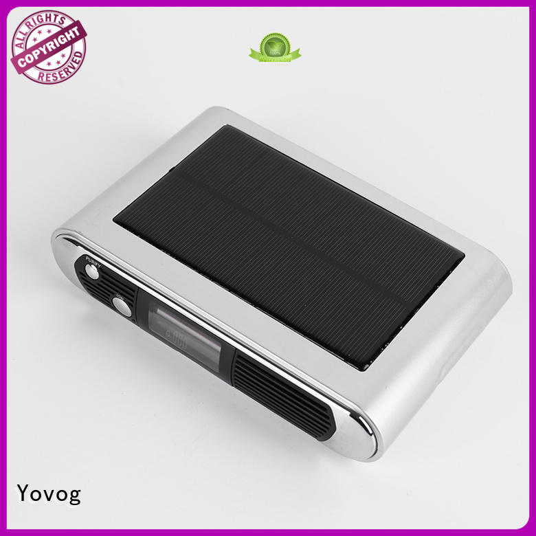Yovog hot-sale car air purifier india factory dust removal