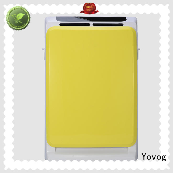 Yovog high-quality air purifier machine for home supplier for living room