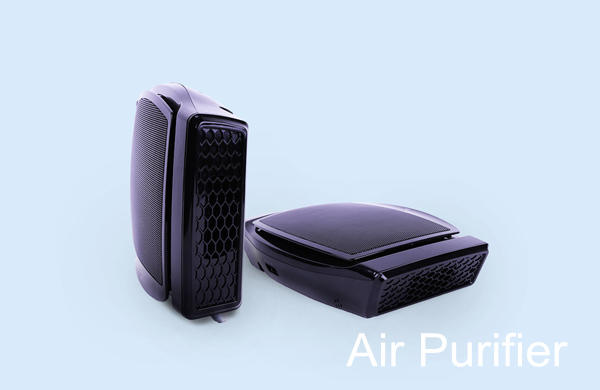 Portable air cleaner distributors, home USB air purifier supplier, wholesale solar car air purifier