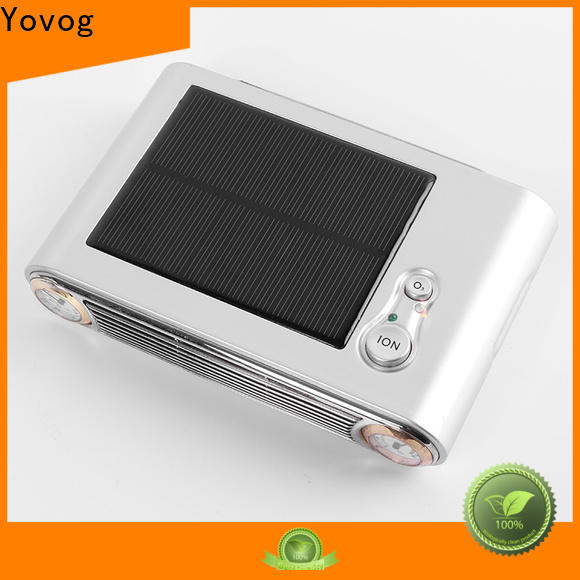 Yovog Wholesale anion air purifier review for business for bus