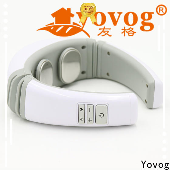 Yovog neck massager machine inquire now for workers