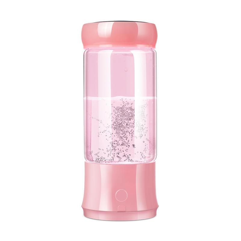 Hydrogen water bottle Ionizer glass plastic maker generator portable alkaline 300ml for health drinking Yovog model EDS-6119