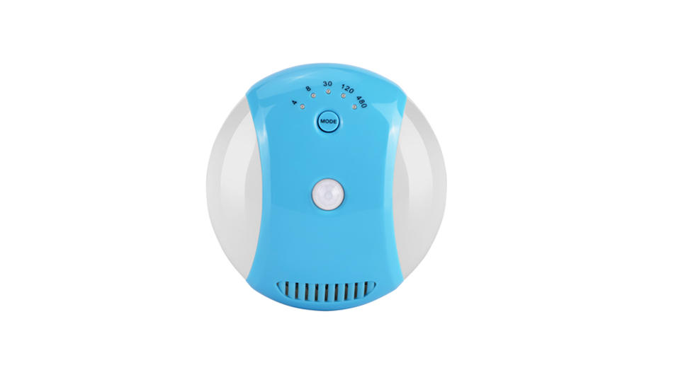 Portable Sterilizer 12v 5w Ozone Disinfection Infrared sensing Air Purifier