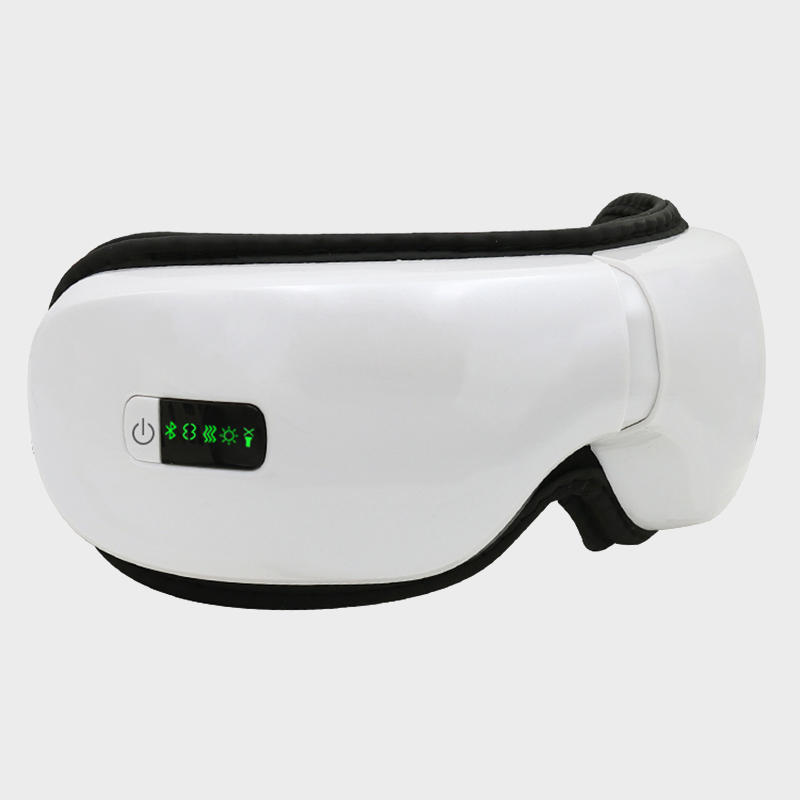 Multifunction air pressure rechargeable Foldable wireless Vibration eye massager with Heating EDS-203