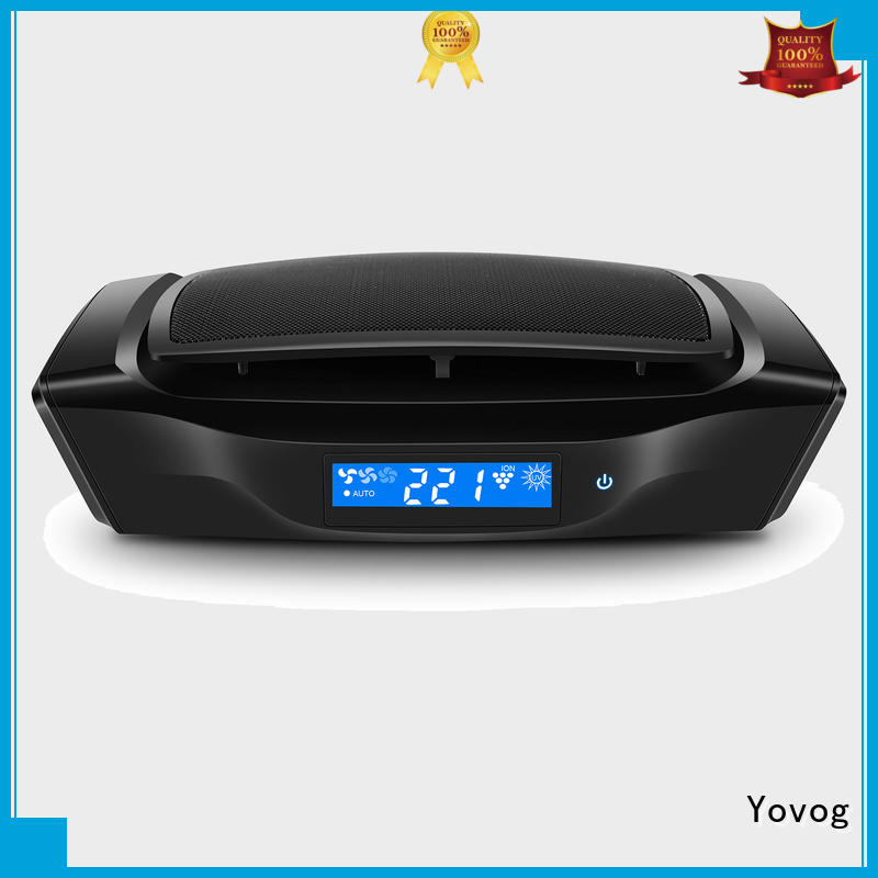 Yovog New car air purifier ionizer reviews Supply
