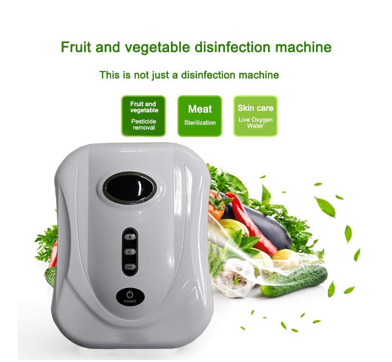 Ozono generator fruit and vegetable washing machine ozone sterilizer air purifier