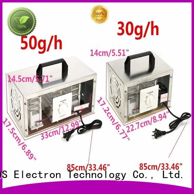 Yovog true filter ozone air cleaner ODM for hotel