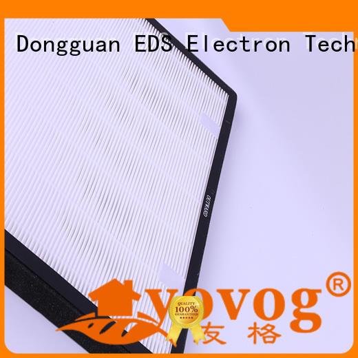 Yovog hepa air purifier filter best supplier for houses