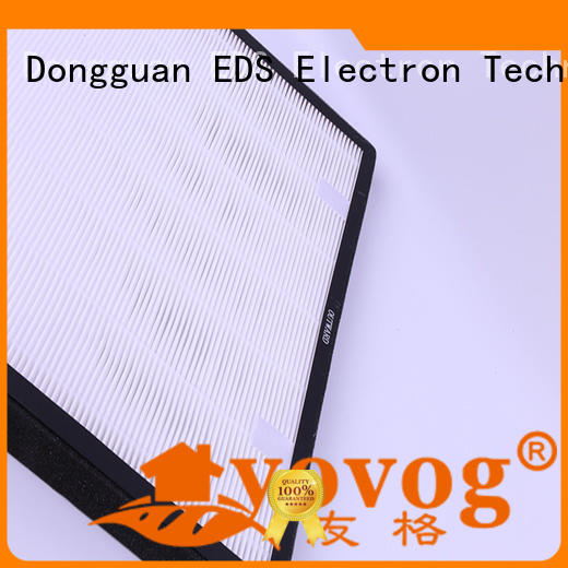 Yovog hepa air purifier filter best supplier for houses