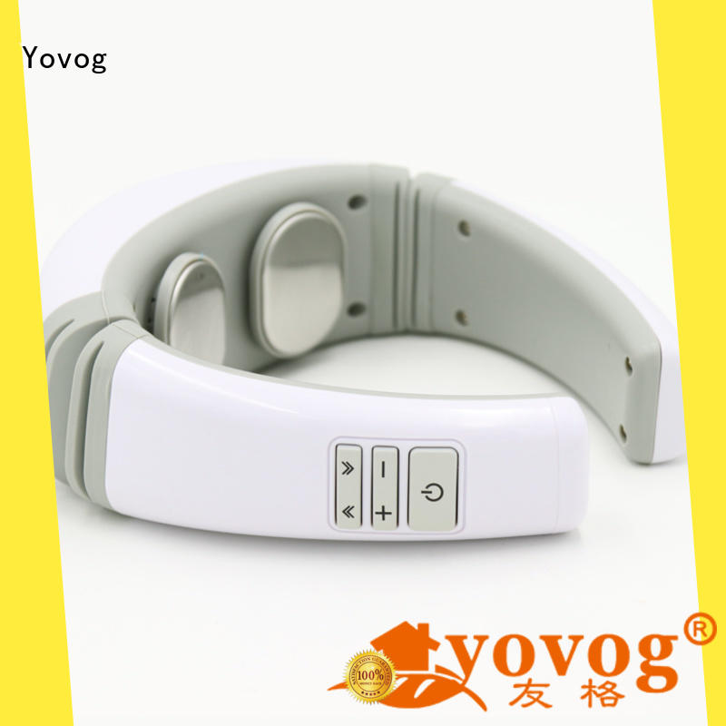 Yovog pulse neck massager with heat wholesale now for workers